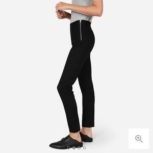 EVERLANE Ponte Stretch Skinny Black Pants Size 2